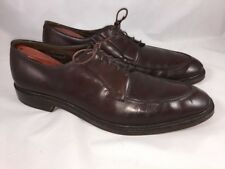 Allen Edmonds Brentwood Ostendo Heel Men's 12A Brown Leather Split Toe Oxfords