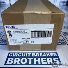 10 Pack Eaton Cutler Hammer Brp115af Arc Fault Combination Afci Circuit Breaker
