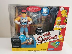 Simpsons Playmates World Of Simpsons Moe's Tavern with Duffman - boxed