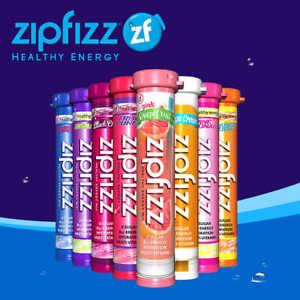 Zipfizz Healthy Energy Drink Mix, 30 Tubes Select Flavor