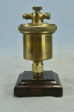Antique Lunkenheimer Ideal No 1 Brass Grease Cup Hit Amp Miss Steampunk 02550