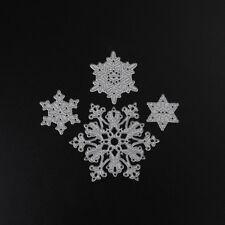 Snowflake set 4 snow Metal Cutting Dies For Diy Scrapbooking Photo AlbumDecor@