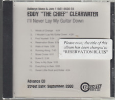 eddy the chief clearwater reservation blues cd promo