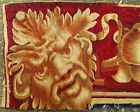 A Very Long 17th Century Tapestry Border with Satyr Heads