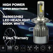 H4 9003 HB2 LED headlight conversion kit Hi-lo Beam 6000k white HID xenon lights
