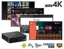 DECODER DIGITALE TERRESTRE SATELLITE SMART TV TUTTO IN 1 4k ANDROID REC E PLAY
