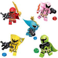 5 SET Power Rangers Movie Mini Figures Minifigures Building Blocks Custom Toys
