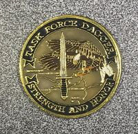 Rare CIA TF Dagger Karshi-Khanabad Air Base Uz Stronghold Freedom Challenge Coin