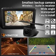 136° Wide Angle Night View Digital Wireless Reversing Backup Camera Dash Monitor