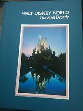 1982 Walt Disney World The First Decade Hardcover Book (Very Good, Free S&H)