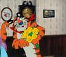 WONDERFUL TONY TIGER & MAMA FROSTED FLAKES ORIGINAL ANIMATION PRODUCTION CEL