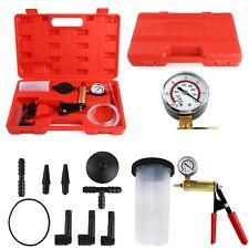 2 in 1 Vacuum Pistol Pump Tester Brake Fluid Bleeder Auto Car Tester Tool Kit