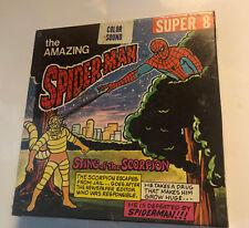 Amazing Spiderman Sting Of The Scorpion Ken Films Super 8 Color Sound