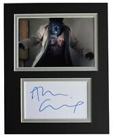Alan Cumming Signed Autograph 10x8 photo mount display X Men Film AFTAL COA