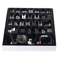 Useful 32pcs Presser Foot Feet For Brother Singer Domestic Sewing Machine Part