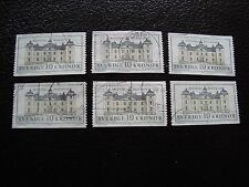 SUEDE - timbre yvert et tellier n° 1666 x6 obl (A29) stamp sweden