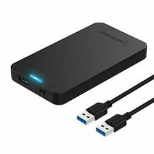 Sabrent 2.5-Inch SATA to USB 3.0 Tool-Free External Hard Drive Enclosure Opti...