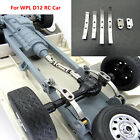 1 Set Metal Thickened Rear Axle Leaf Spring Kit For Wpl D12 Rc Car Upgrade Parts