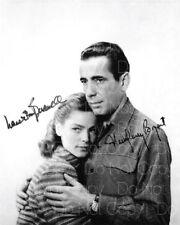 Lauren Bacall Humphrey Bogart signed 8X10 photo picture poster autograph RP