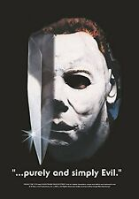 HALLOWEEN MOVIE - MICHAEL MYERS - FABRIC POSTER - 30x40 WALL HANGING - HFL0567