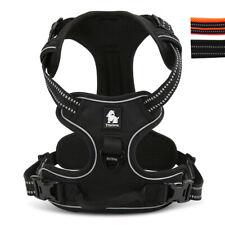 No Pull Large Dog Harness Padded Truelove Reflective Adjustable Black Doberman