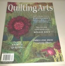 Quilting Arts Magazine Fall 2006! Journal Quilting Exotic Fibers Samplers