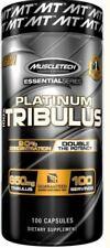 Muscletech Platinum 100% Tribulus   Tribulus extract   100 Kapseln