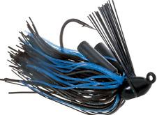 Booyah Boo Jig 3/4oz - Black Blue - Bass Yellow Belly Lure
