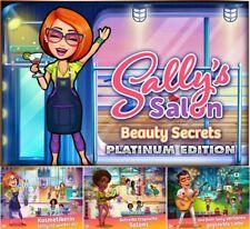 ⭐ Sally's Salon-Beauty Secrets-Platinum Edition-PC/Windows ⭐
