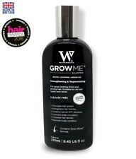 Hair Growth Shampoo Waterman's Sulfate Caffeine Biotin Argan Oil Hair Grow 250ml