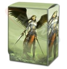 Max Protection Plastic Gaming CCG Card Deck Box - The Reckoning art design