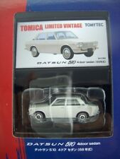 TOMICA DATSUN 510 4door SEDAN NEW IN BOX LIMITED VINTAGE