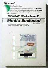 Microsoft Works Suite 99 (1 User/s) - Full Version for Windows
