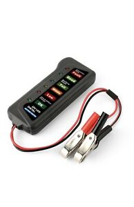Digital Battery Tester 12V LED Indicator Light Car Van Motorcycle Battery Check