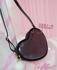 Transparent Clear Candy Jelly Heart Love Shoulder Bag Itabag Comic Show Summer