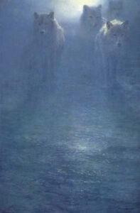 "John Seerey Lester ""Frozen Moonlight"" S/N Limited Edition Print"