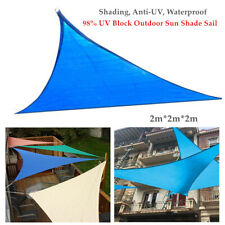 98% UV Block Sun Shade Sail Garden Patio Suncreen Awning Canopy Cover WATERPROOF