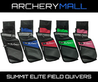 Summit Archery Elite Field Quiver (RH / LH) (Black, Red, Blue, Pink, Green)