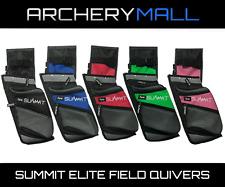 Summit Archery Elite Field Quiver (RH / LH) (Black, Red, Blue, Pink, Green)