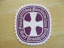 (18563) Siegelmarke - Ev. Konsistorium Mark Brandenburg