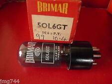 50L6 BRIMAR UK NEW OLD STOCK tubo valvola 1pc M15A