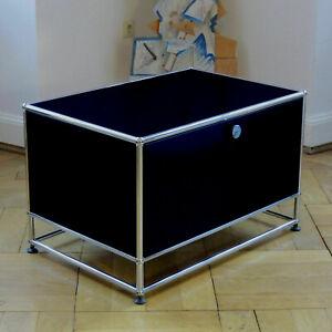 * USM Haller TV Heimkino Lowboard Sideboard Nachttisch * Schwarz * Sockel *