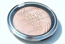 Makeup Revolution Vivid Baked Highlighter Shimmer Powder Peach Lights
