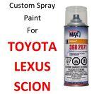 Custom Automotive Touch Up Spray Paint For TOYOTA / LEXUS Cars