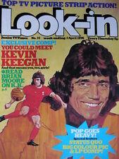 LOOK-IN MAGAZINE 3RD APRIL 1976 - KEVIN KEEGAN - STATUS QUO POSTER!