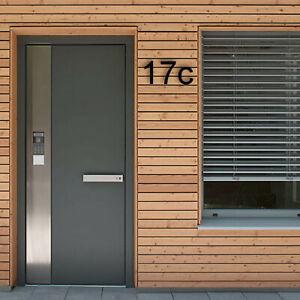 Floating House Number Letter | Arial Series | Modern Designer Door Numbers | Acr