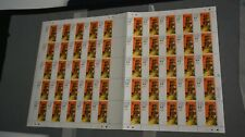 HONG KONG #361-363 STAMP SET MINT MNH FULL SHEET OF 50 - COMPLETE - 1980 TEMPLES