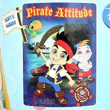 "Disney Jake Never Land Pirates Fleece Throw Blanket  46"" x 60"""
