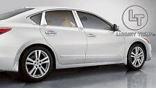 Para Nissan Altima 4D Inoxidable Cromo Pilar Postes por Luxury Tapacubos