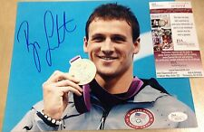 RYAN LOCHTE AUTOGRAPHED SIGNED TEAM USA OLYMPIC GOLD MEDAL SWIMMER JSA